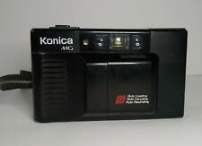 Konica MG AF Point Shoot Film Camera Hexanon 35mm F3.5 Lens Untested For Parts