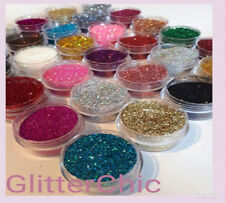 Glitter Pots ** BUY 5 Get 10 FREE** Eyes Lips Face Body Craft Nail Art