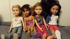 "MGA 4-Ever Best Friends Club 18"" Dolls Kaitlin Noele Addison Aliesha"