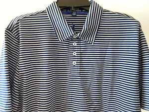 New!  RALPH LAUREN POLO Boys Golf s/s Shirts white & black OR blue & gray