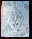 Tim Vigil Original Art C105 Destroyer Faust