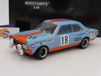 "Minichamps 155714818 # Opel Commodore A Steinmetz 24h Spa 1971 "" GULF "" 1:18 NEU"