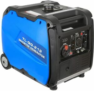 Bilt Hard 4,000-W Portable RV Ready Gas Inverter Generator with Electric Start