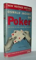 OSWALD JACOBY ON POKER / 1950 New Revised Edition
