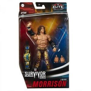 John Morrison Survivor Series Elite Figure - Brand New