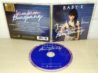 BABY K - KISS KISS BANG BANG - AUTOGRAFATO - CD