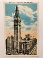 Metropolitan Life Insurance Building, New York City, NY Postcard