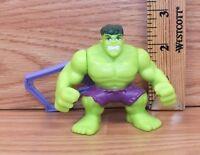 """Marvel 2009 Superhero Squad """"Hulk"""" Burger King Toy Keychain Figure **READ**"""