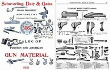 Schoverling, Daly & Gales 1921 Parts & Gun Materials Catalog