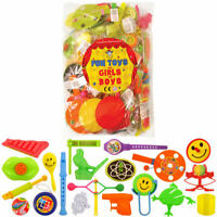100 Assorted Party Bag Toys - Pinata School Gift Wedding/Kids Fillers