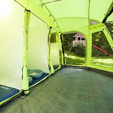 skandika Copenhagen 6 Person/Man Family Dome Tent Sewn-in Groundsheet Green New