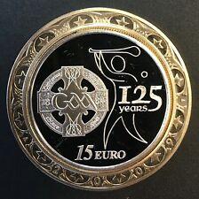Ireland - Silver 15 Euro Coin - 'GAA Anniversary' - 2009 - Proof