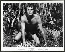 Ron Ely as Tarzan 1970 Original Promo Photo Tarzan's Deadly Silence