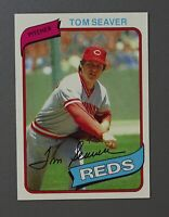 1980 TOPPS #500 -- TOM SEAVER -- Cincinnati Reds BASEBALL CARD