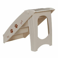 Foldable Dog Ramp Stairs Steps For Smaller Pets Pickup Travel Ladder MAX 100 LBs