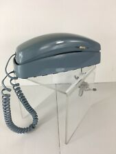 Vintage Trimline Princess Push Button TelephoneBlue AT&T 210 Corded Wall Phone