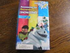Toy Zone Extreme Winter Fun Snow Dinosaur 29~Piece Decorating Accessories~Nib!