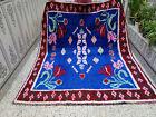 Handmade Moroccan Berber Rug Azilal Tribal Carpet Beni Ourain Vintage Rug