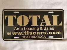 Total Auto Leasing & Sales Chattanooga (Defunct) Dealership Plate