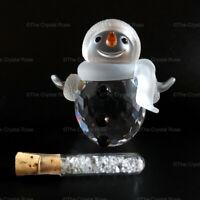 RARE Retired Swarovski Crystal Snowman 250229 Mint Boxed Christmas