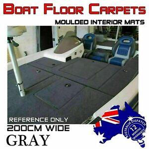 2M Wide x 3M Do-It-Yourself Bass Boat Carpet Marine Underlay Floor Remedy Felt