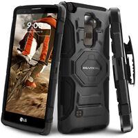 LG G Stylo 2 Case, Evocel Rugged Holster Case with Kickstand & Belt Swivel Clip
