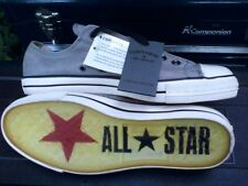 Converse All Star *John Varvatos* Gray Leather Low NWT Men's 10.5