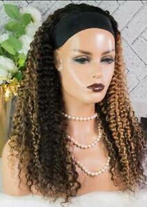 """Headband 20"""" Brazilian hair wig"""