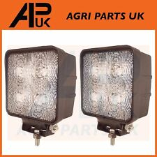 2 x 40W CREE LED Work Light Lamp Flood Beam 12V 24V Tractor Digger 4WD JCB Lorry