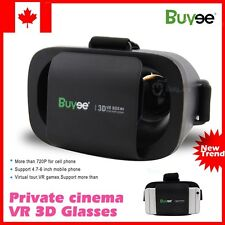 "New VR BOX 4.7-6"" 720p Virtual Reality 3D Glasses For Cell Phone Smartphone CA"