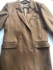 MAX MARA Wool Drape Double Breasted Vintage Sloane Blazer Coat Jacket Large
