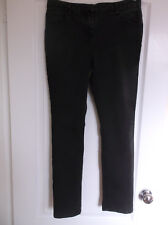 Wallis Petite Size 12 Black Denim Leggings / Jeggings