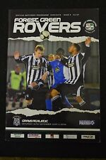 Forest Green Rovers Vs Grays Athletic Sept 26th 2009 Program (P36)