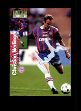 Christian Nerlinger Bayern München Panini Card 1997 Original Signiert+ A 158072