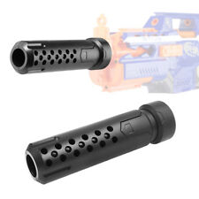 Tactical Silencer Barrel Extension Attachment Black for Nerf MOD Modify Toy