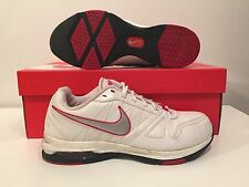 Nike Air Max Jogging Shoes  White/Grey/Red US Women's Size 8
