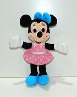 "Vintage Disney Playskool Hanging Minnie Mouse Plush Stuffed Animal Toy Friend 9"""