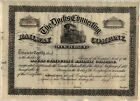 Docks Connecting Railway Company Stock Certificate Railroad New Jersey