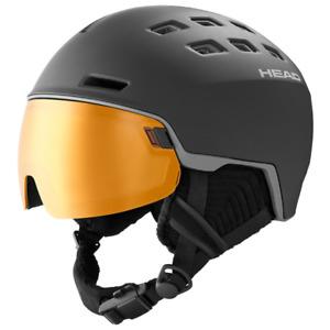 HEAD Radar Pola Black XS-S Ski Snowboard Visor Helmet HS20