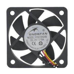 5CM double ball bearing cooling fan 5010 inverter fan YY5010H24B 24V 0.10A