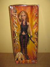 2002 Shakira Concert Doll Barbie Latin Pop Singer  B4534 blonde vest celebrity