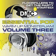 DMC Essential Pop Warm Up Monsterjam Vol 3 DJ CD Ivan Santana Megamix