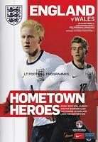 * 2014 - ENGLAND v WALES (UNDER 21's EURO QUALIFIER - 5th March 2014) *