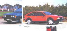 VW Volkswagen Scirocco Mk 2 16v GTX GT 1986-87 Original UK Sales Brochure