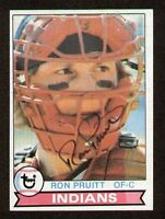 Ron Pruitt #226 signed autograph auto 1979 Topps Baseball Trading Card