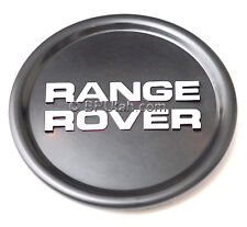 Range Rover Classic Wheel Cap Hub Black Center Genuine OEM 1987~1995 =Set of 4=