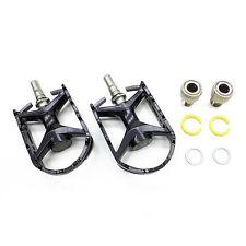 MKS Mt-e EZY Removable Pedals Black for Folding Bikes Brompton Dahon Montague