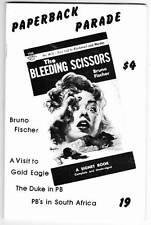 PAPERBACK PARADE #19 - 1990 fanzine - Bruno Fischer, John Wayne paperbacks