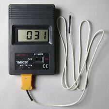 TM902C LCD digitale Termometro Temperatura Lettore Sensore Metro Tipo K Sonda
