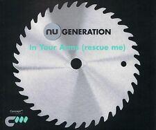 Nu Generation – In Your Arms (Rescue Me) - CD SINGLE MINT - 3 TRACK REMIX CD